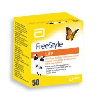 Harga ABBOTT FREESTYLE LITE TEST STRIP 50'S