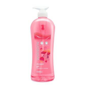Harga WATSONS Strawberry Scent Shower Gel 1L