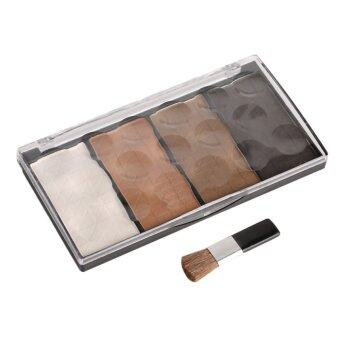 Harga Allwin 4 Colors Makeup Powder Face Eye Highlighter Glow Kit Shadow Concealer 4#