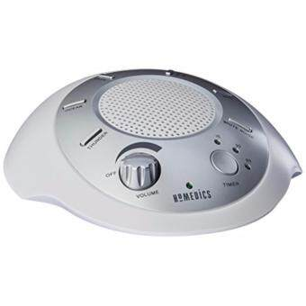 Harga HoMedics SS-2000G/F-AMZ Sound Spa Relaxation Machine with 6 Nature Sounds, Silve