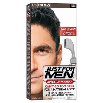 Harga US - Just For Men AutoStop Men's Hair Color, Real Black
