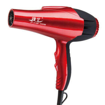 Harga 2300W High Power Professional Hair Dryer Constant temperature Household Hair Blowers Hot and Cool Air for Salons Styling Tools(Red)