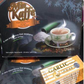 Harga 2 Min Kaffe Coffee + Garlic Tablet