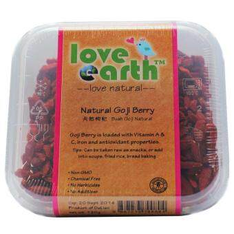 Harga Love Earth Natural Goji Berry (120g)