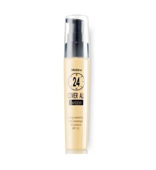 Harga 【FREE SKINCARE GIFT】MISTINE 24-Hour Cover All Foundation [COLOR F1] SPF 15 (100% Authentic)