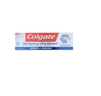 Harga Colgate Sensitive Pro-Relief Repair & Prevent Fluoride Toothpaste 114g