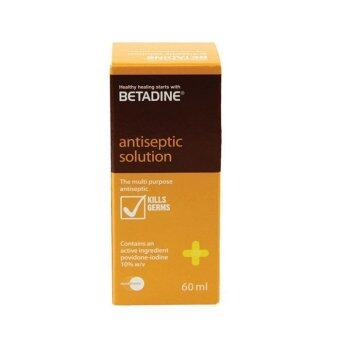 Harga BETADINE Antiseptic Solution 60ml