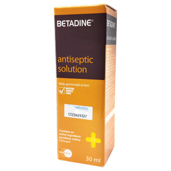 Harga Betadine Solution 30ml