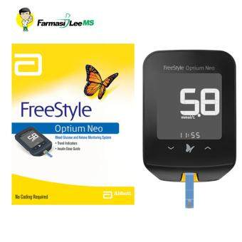 Harga FreeStyle Optium Neo Blood Glucose and Ketone Monitoring System +25 glucose strips (Lifetime warranty)