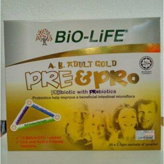 Harga Bio-Life Adult Gold Pre and Pro (30 x 2.5 g sachets of powder)