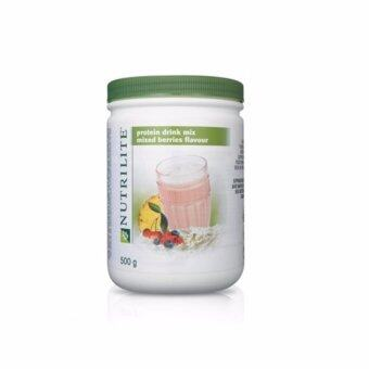 Harga NUTRILITE Protein Drink Mix Mixed Berries Flavour (500g)