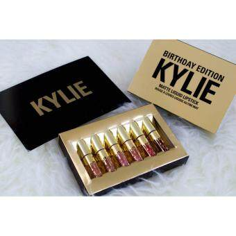 Harga Limited Edition - Kylie Birthday Edition Matte Liquid Lipstick Collection Mini Kit 6pcs