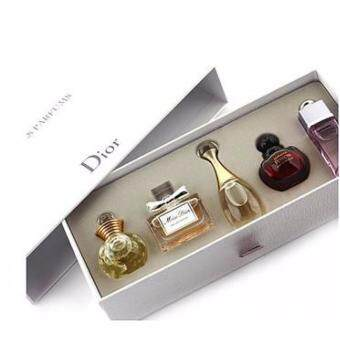 Harga { Promotion Sales }- Christian Dior Les Parfums Miniature Collection ( 5 in 1 )