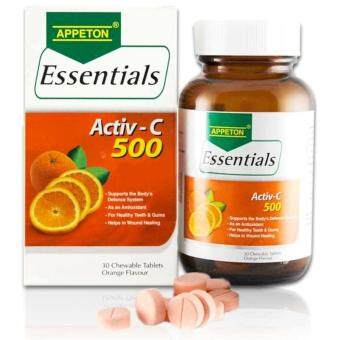 Harga Appeton Essentials Vitamin C 500Mg 30S (Orange Flavo