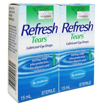 Harga Allergan Refresh Tears 15ml twin pack