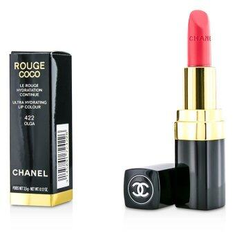 Harga Chanel Rouge Coco Ultra Hydrating Lip Colour - # 422 Olga 3.5g