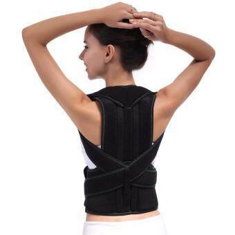 Harga (Size L) Adjustable Back Clavicle Support Posture Corrector Belt Straightener Band Brace Clavicle Braces & Supports for teenager humpback