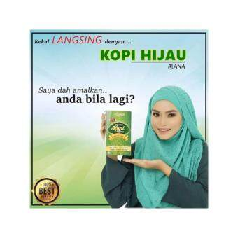 Harga ALANA KOPI HIJAU GREEN COFFEE 2 BOX