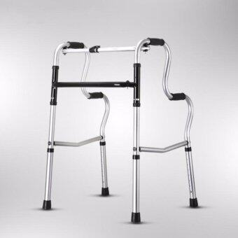 Harga Mizona High Quality Foldable Stainless Steel Medical Aid Walker