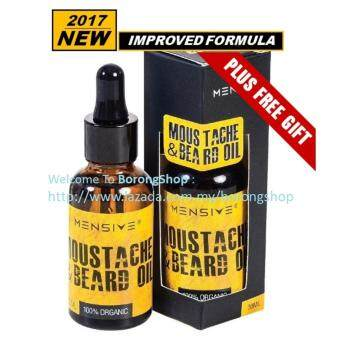 Harga Mensive Moustache & Beard Oil (MBO) Malaya Beard Oil Upgraded !!