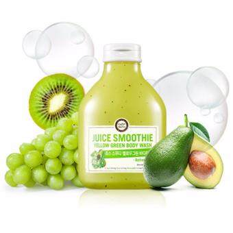 Harga [HAPPY BATH] Juice Smoothie Bodywash #Yellowgreen 300g