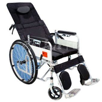 Harga KS-02 Portable Folding Steel wheelchair - can lying