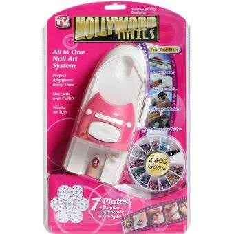 Harga Hollywood Nails All in One Nail Art System