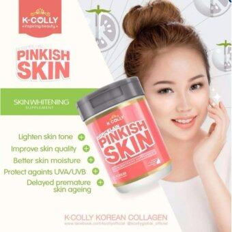 Harga K-Colly Porcelain Pinkish Skin Whitening Supplement Crystal Tomato kcolly WITH Extra Gift