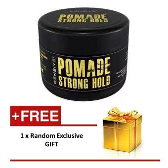 Harga Mensive Hair MBO Pomade Strong Hold Styling 150gm with extra gift