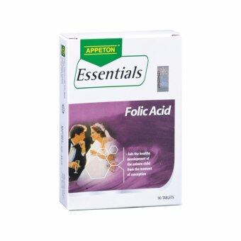 Harga Appeton Essentials Folic Acid 90's