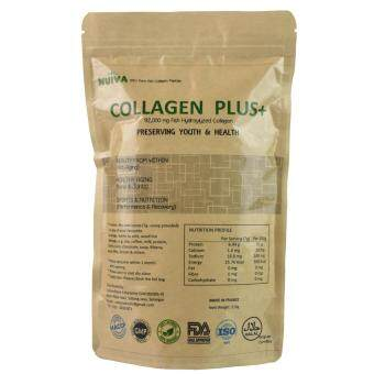 Harga Nuiva Collagen Plus+ (210g) France Pure & Natural Fish Collagen Supplement Powder Healthy Aging Bones & Joints x3