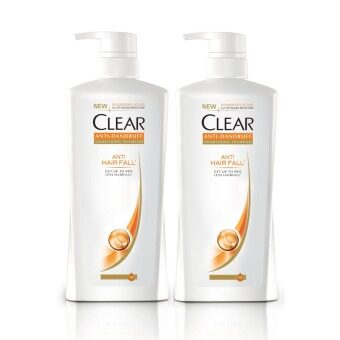 Harga Clear Anti Hair Fall Anti-Dandruff Shampoo 700 ml x2
