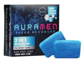 Harga Aura Men Super Advanced Auramen Face Soap (2 In 1)