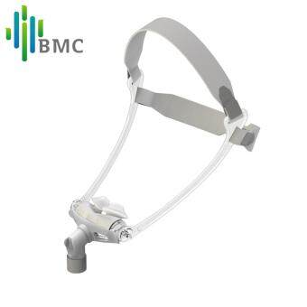 Harga BMC WNP Nasal Pillows CPAP Mask Hot Selling S/M/L All In Silicone Gel Material With Belt For Snoring And Apnea Free Shipping