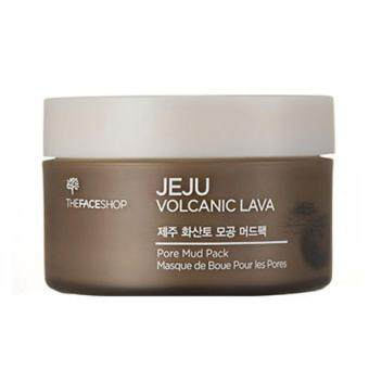 Harga The face shop Jeju Volcanic Lava Pore Mud Pack 100g