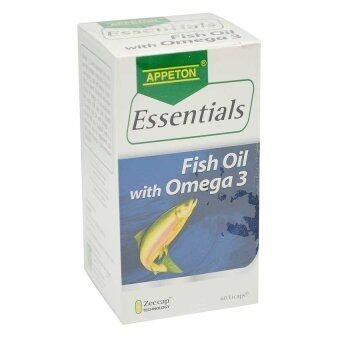 Harga Appeton Essentials Fish Oil With Omega 3 60's
