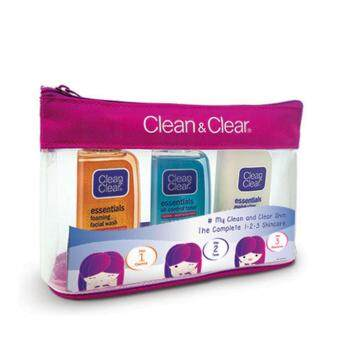 Harga CLEAN & CLEAR 123 Regime Pack 50ml 1 pack