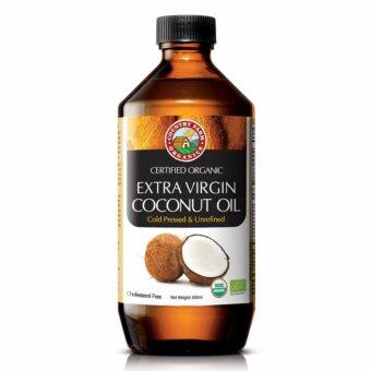 Harga Country Farm Organics Organic Extra Virgin Coconut Oil 500 ml (good quality)