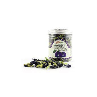 Harga All Natural Asian Herbal Tea, Butterfly Pea Flower (30g)