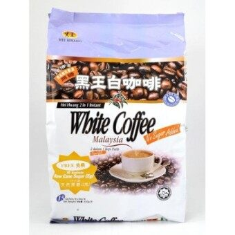 Harga HEI HWANG 2-in-1 White Coffee (No Sugar) with Added Microground Coffee 15'Sx 30g