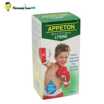 Harga Appeton Multivitamin Lysine 120ml