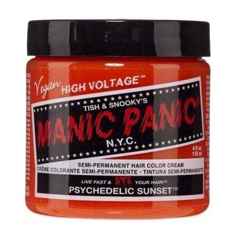 Harga [MANIC PANIC] PSYCHEDELIC SUNSET / SEMI-PERMANENT HAIR COLOR CREAM / HAIR DYE (Intl)