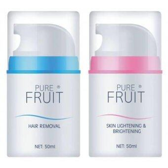 Harga Pure Fruit Hair Removal and Whitening [10% extra discount purchase in apps]