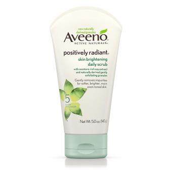 Harga Aveeno Positively Radiant Skin Brightening Daily Scrub, 5 Oz