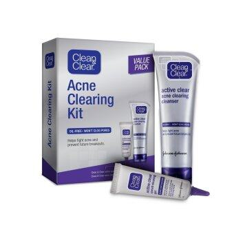 Harga Clean & Clear Acne Clearing Kit