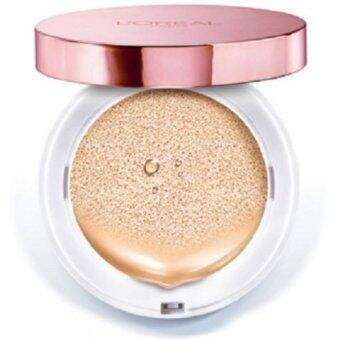 Harga L'Oreal Paris Lucent Magique Cushion Lumiere SPF29/Pa+++ [#N3 Nude Miracle]