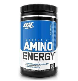 Harga Optimum Nutrition Essential Amino Energy, Blue Raspberry, 30 Servings