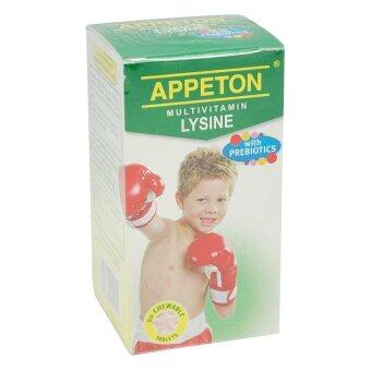Harga Appeton Multivitamines Lysine With Prebiotics Tab 60T