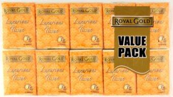 Harga Royal Gold 3 Ply Luxurious Tissue 40 x 10 Sheets