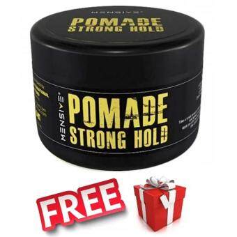 Harga 1 Box Mensive POMADE Strong Hold Hair Style - 150g